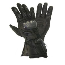 Xelement Motorcycle Black Carbon Gloves